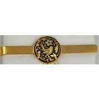 Damascene Gold Mens Tie Bar Bird by Midas of Toledo Spain style 2604