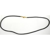 Black Cord Necklace style 8200-2